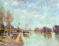 The straw rents 3 - Alfred Sisley
