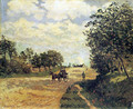 The Road from Mantes to Choisy-le-Roi - Alfred Sisley