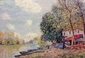 The Loing in Moret - Alfred Sisley