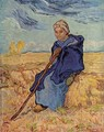 old woman sitting - Vincent Van Gogh