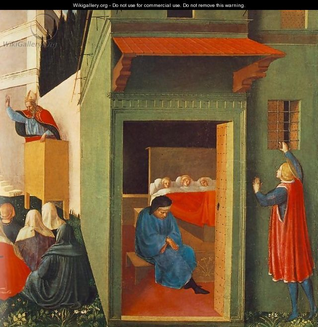 The Story of St Nicholas, Giving Dowry to Three Poor Girls - Giotto Di Bondone
