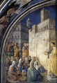 The Sermon of St Stephen - Giotto Di Bondone