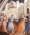 St Stephen Being Led to his Martyrdom - Giotto Di Bondone