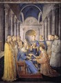 St Peter Consacrates St Lawrence as Deacon - Giotto Di Bondone