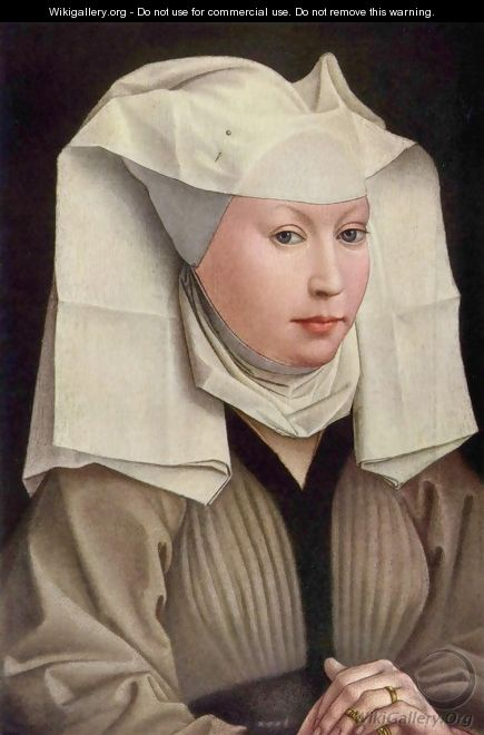 Portrait of a Woman (2) - Rogier van der Weyden