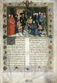 First page of the Chroniques de Hainaut - Rogier van der Weyden