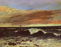 The Wave 1 - Gustave Courbet