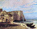 The Cliffs of Étretat After the Storm - Gustave Courbet