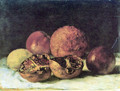 Pomegranates - Gustave Courbet