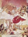 Frescoes in the imperial hall of the Würzburger residence castle, cover fresco, scene, Europe - Giovanni Battista Tiepolo