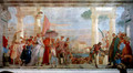 The reception of Henrich III - Giovanni Battista Tiepolo