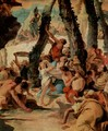 The harvest of divine Segens - Giovanni Battista Tiepolo