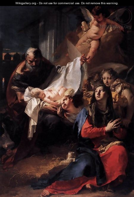 Nativity - Giovanni Battista Tiepolo