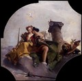 Fortitude and Justice - Giovanni Battista Tiepolo
