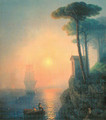 Misty morning in Italy - Ivan Konstantinovich Aivazovsky