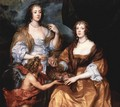 Portrait of the ladies Elisabeth Thimbleby and Dorothy Viscountess Andover - Sir Anthony Van Dyck