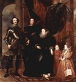 Portrait of the family Lomellini - Sir Anthony Van Dyck