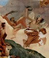Apotheosis of the Family Pisani, detail 3 - Giovanni Battista Tiepolo