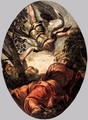 Elijah Fed by the Angel - Jacopo Tintoretto (Robusti)