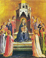 Virgin with the child and twelve angels - Angelico Fra