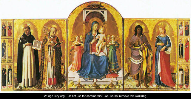 Triptych of Perugia - Angelico Fra