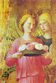Triptych of Perugia. Virgin with child, angels and saints - Angelico Fra