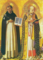 Triptych of Perugia. The Saints Sunday and Nicolas de Bari - Angelico Fra