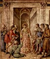 St Lawrence Distributes Food to the Poor - Angelico Fra
