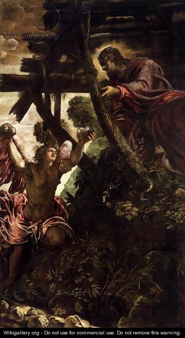 The Temptation of Christ - Jacopo Tintoretto (Robusti)