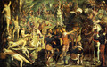 The Martyrdom of the Ten Thousand (fragment) - Jacopo Tintoretto (Robusti)