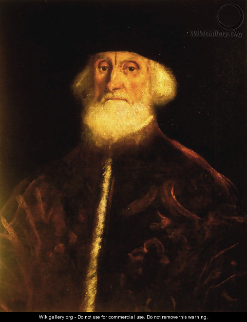 Portrait of Procurator Jacopo Soranzo - Jacopo Tintoretto (Robusti)