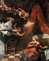 The Annunciation (detail) - Jacopo Tintoretto (Robusti)