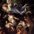 St Roch in Prison Visited by an Angel (detail 2) - Jacopo Tintoretto (Robusti)