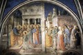 Lunette of the west wall - Giotto Di Bondone