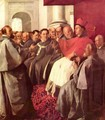 St. Bonaventure receives the envoy of the emperor - Francisco De Zurbaran