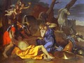 Tancrede and Erminia. 1634. - Nicolas Poussin