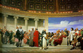 Hemicycle of the Ecole des Beaux (right side) - Paul Delaroche