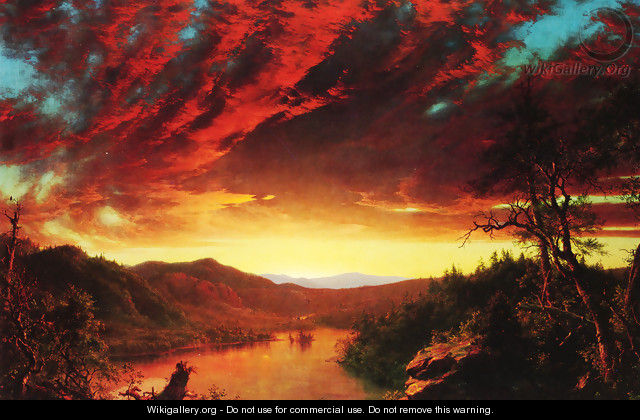 Twilight in the Wilderness - Frederic Edwin Church
