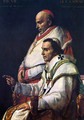 Portrait of Pope Pius VII and the Cardinal Caprara - Jacques Louis David