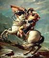 Napoleon Crossing the Alps - Jacques Louis David