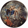 The time and the truth, allegory, Tondo - Nicolas Poussin