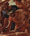 The Martyrdom of Saint Erasmus, detail - Nicolas Poussin