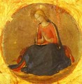 Perugia Triptych; The Virgin from the Annunciation - Angelico Fra