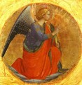 Perugia Triptych; Angel of the Annunciation - Angelico Fra