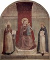 Madonna throne with St. Dominic and St. Zenobius - Angelico Fra