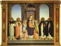 Fiesole Triptych - Angelico Fra
