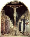 Crucifixion scene with St. Dominic - Angelico Fra