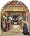 Adoration of the Child - Angelico Fra