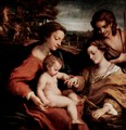Mystical Marriage of St. Catherine of Alexandria with Christ - Correggio (Antonio Allegri)
