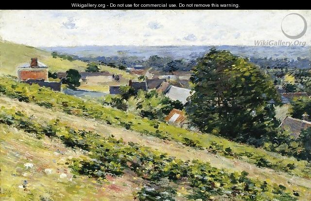 From the Hill, Giverny - Theodore Robinson